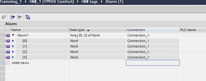 TIA MEMO#How to Create your Alarm Table in HMI |
