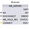Siemens#Modbus TCP serverとして使う