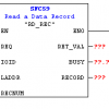 Siemens#SFC59で診断状態を取る